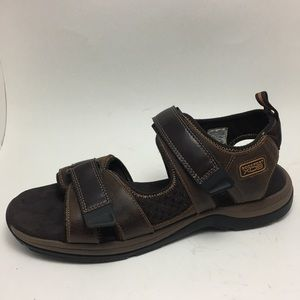 💰💥Rockport brown leather comfort casual Sandal